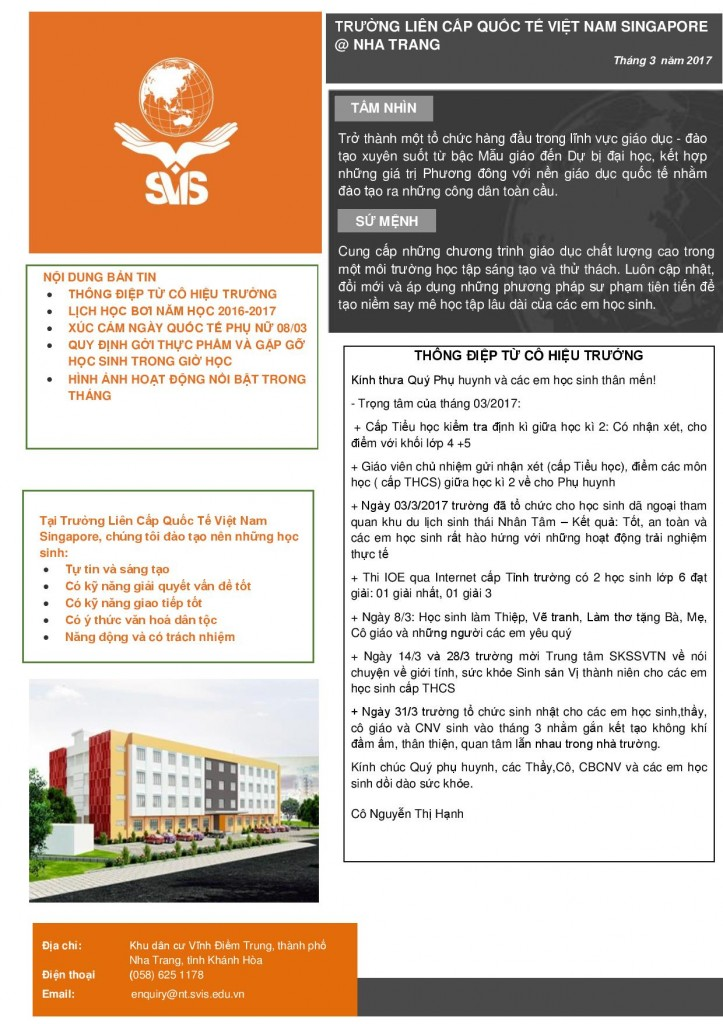 SVIS Nha Trang - Newsletter (VN) Mar 2017-page-001