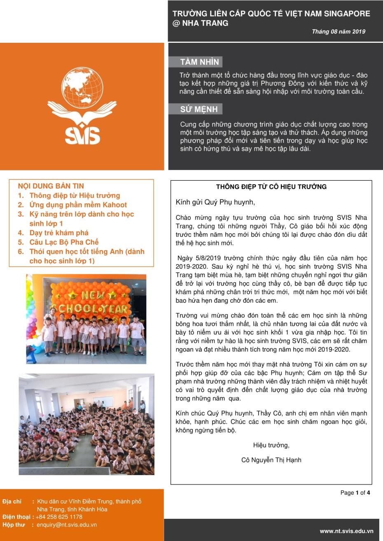 SVIS@NT_Newsletter_Aug 2019_VN version-1