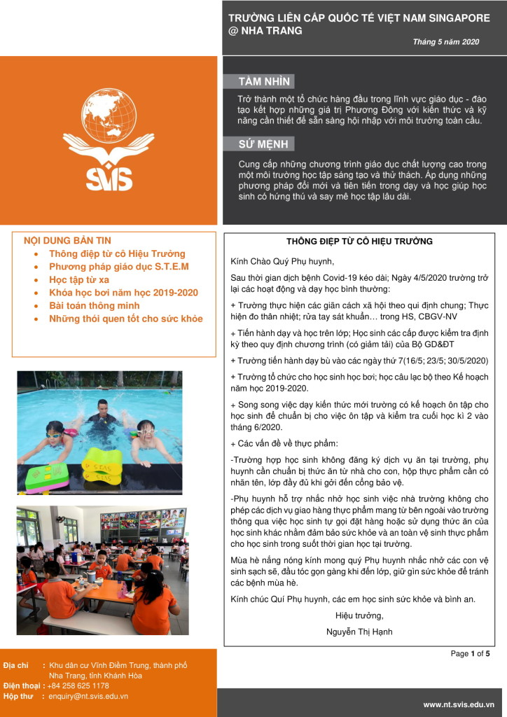 SVIS@NT_Newsletter_May 2020 (VN)-1