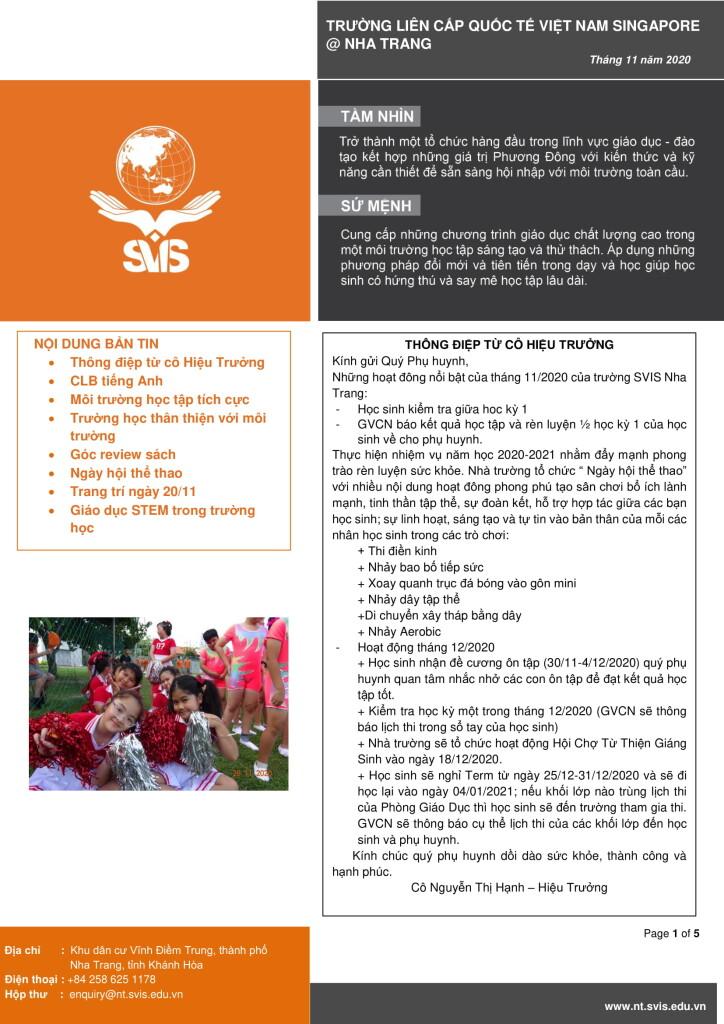 SVIS@NT_Newsletter_Nov 2020_VN-1
