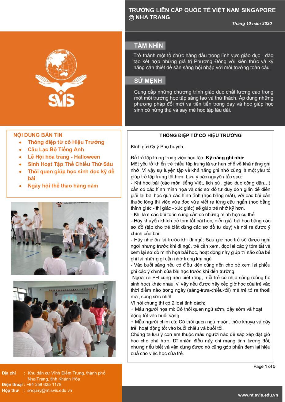 SVIS@NT_Newsletter_Oct 2020_VN_001