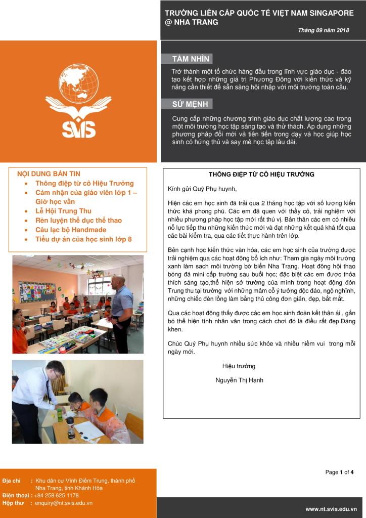 SVIS@NT_Newsletter_Sep 2018_VN version-1