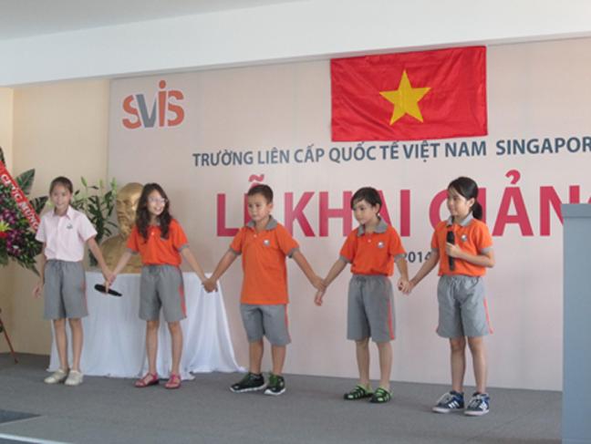 Trường Liên cấp Quốc tế Việt Nam Singapore (SVIS) tại Nha Trang