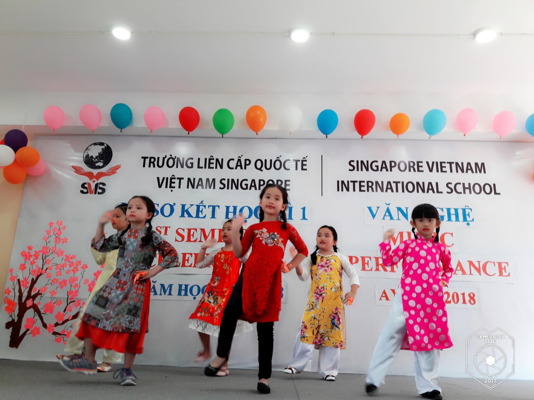 Tet Festival 2018 - Trường Liên Cấp Quốc Tế Việt Nam Singapore tại
